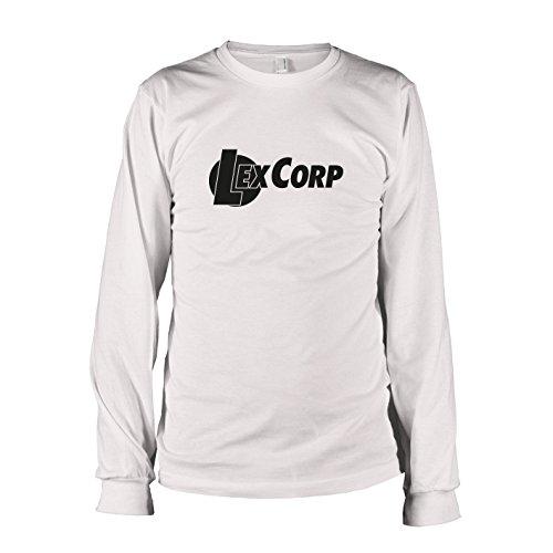 TEXLAB - Lex Corp - Langarm T-Shirt, Herren, Größe XXL, weiß