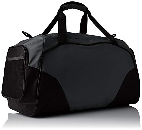 Best under armour bag in India 2020 Under Armour Undeniable 3.0 Large Duffle Bag, Graphite/Black, One Size Image 4
