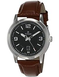 Titan Neo Analog Black Dial Men's Watch NM1730SL02 / NL1730SL02