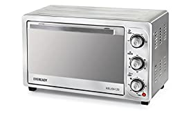 Eveready Relish 28 1500-Watt Oven Toaster Grill (Silver)