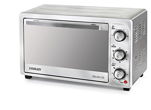 Eveready Relish 28 1500-Watt Oven Toaster Grill (Silver)