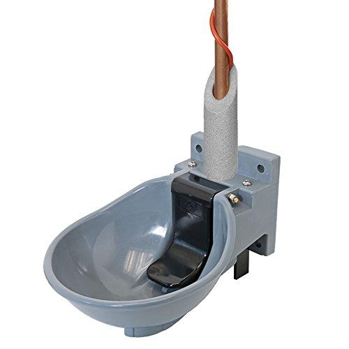 Lister Abreuvoir en plastique sb2h avec câble chauffant et système de câbles 2 m 230 V, 54 W