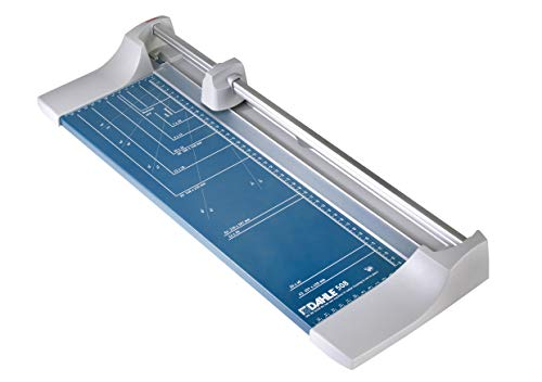 Dahle 508 Papierschneider (Bis DIN A3, 8 Blatt Schneidleistung) blau