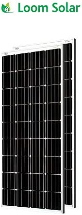 Loom Solar 180 Watt-12 Volt Mono Crystalline Panel (Pack of 2)