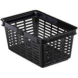 Durable 1801565 Shopping Basket Panier Libre - Service avec Poignée 19 litres Noir