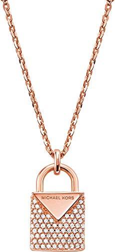 Michael Kors Damen-Kette 925er Silber One Size Rosé 32001153
