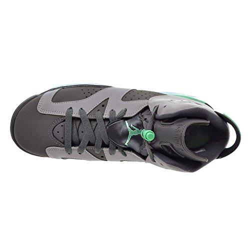 Nike Air Jordan 6 Retro Gg, Chaussures de Sport-Basketball Fille cmnt gry/grn-drk gry-grn g