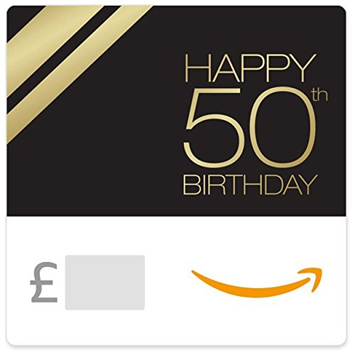 50th Birthday - E-mail Amazon.co.uk Gift Voucher