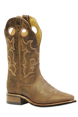 Soul Rebel Stiefel amerikanischen-Stiefel Western bo-3026-65-e (Fuß Normal)-Herren-Braun, Braun - Braun - braun - Größe: 46 (Boulet Männer Western Boots)