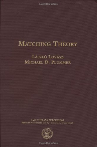 Matching Theory (AMS Chelsea Publishing)