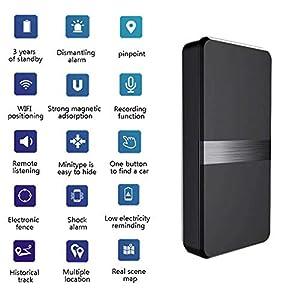 localizador gps para espiar: Mini Dispositivo Portable En Tiempo Real Del Perseguidor Del GPS Para El Vehícul...
