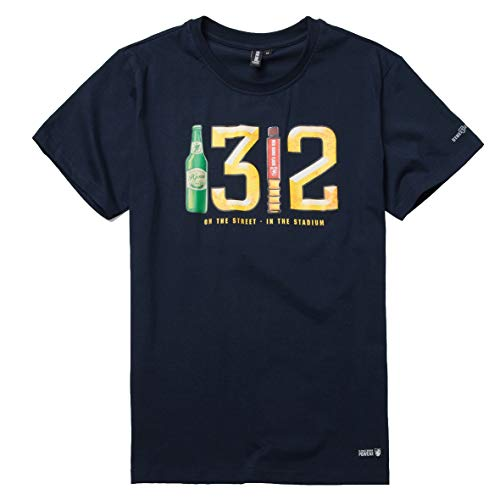 """PG Wear \""""1312-19\"""" T-Shirt Navy (XL)"""