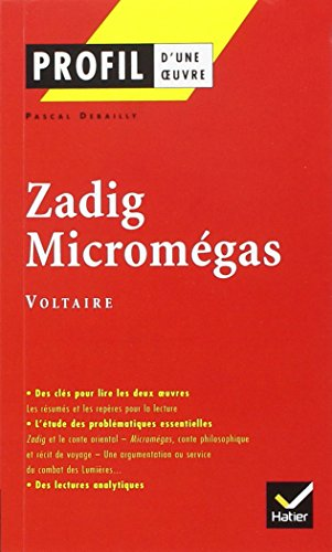 Profil d'une oeuvre: Zadig/Micromegas