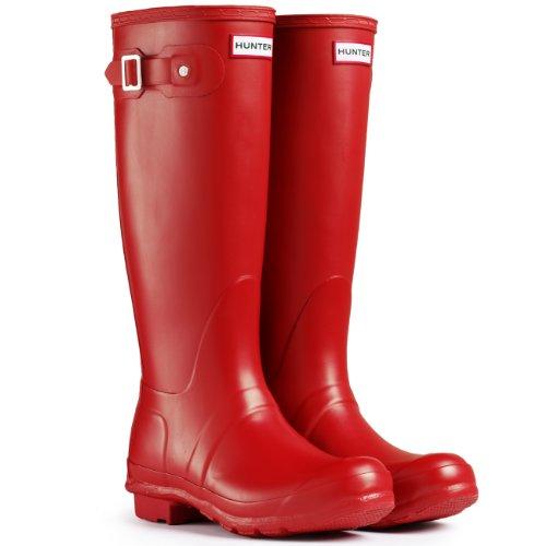 Hunter Women's Original Tall Rain Boots Red, Size 8 - Womens Lady Hunter 8