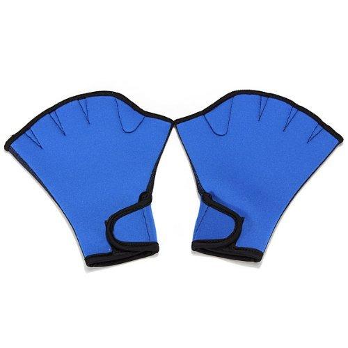Annedenn Frosch Webbed Surfen Schwimmen Handschuhe für Schwimmen Training Surfen fingerless (S)
