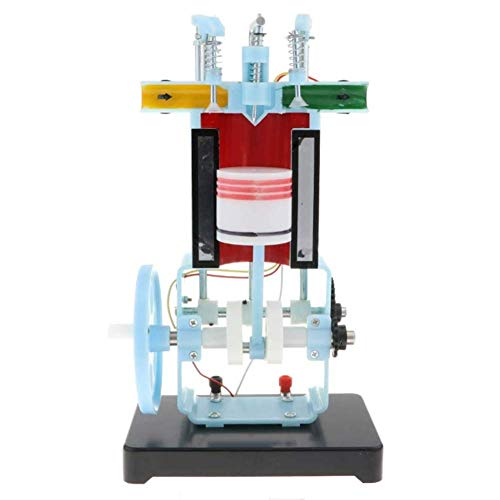 ZQDL Modello Sperimentale Modello di Motore Diesel per La Fisica Meccanica Esperimento Strumento Didattico A 4 Tem