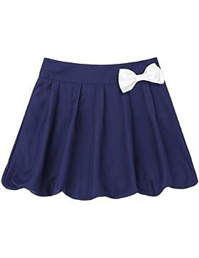 Freebily Falda Escocesa Plisada Uniforme Escolar Falda Tesis Deportiva Mini Faldas Pantalón(4-12Años)