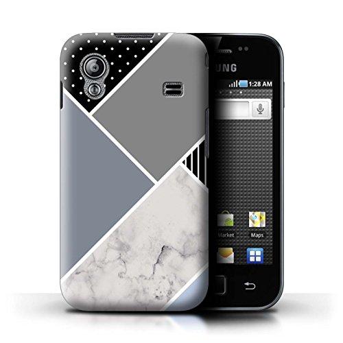 076adc74a0d STUFF4 Phone Case / Cover for Samsung Galaxy Ace / Slate Grey Geometric  Design / Geometric