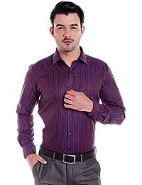 Donear NXG Mens Formal Shirt_SHIRT-1381-RED