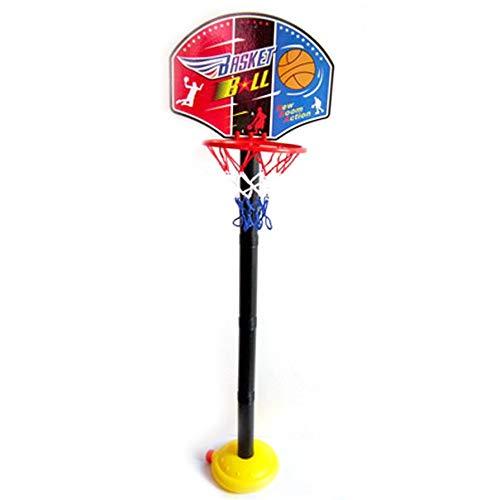 Nichino Children Gift Basketball Stand Adjustable Outdoor Indoor Sports Portable Basketball Hoop Toy Set Stand Ball Backboard Kit