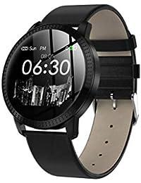 DZKQ Reloj Inteligente Hombres Reloj De Pulsera Inteligente Pago Impermeable ECG Monitor De Ritmo Cardíaco Gimnasio