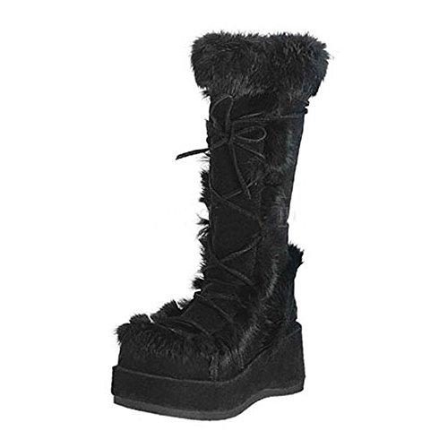 Heels-Perfect , Sandales pour femme Schwarz