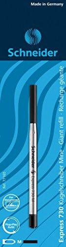 Schneider Schreibgeräte Kugelschreibermine Espress 730, dokumentenecht, M, schwarz, 1er Blisterkarte