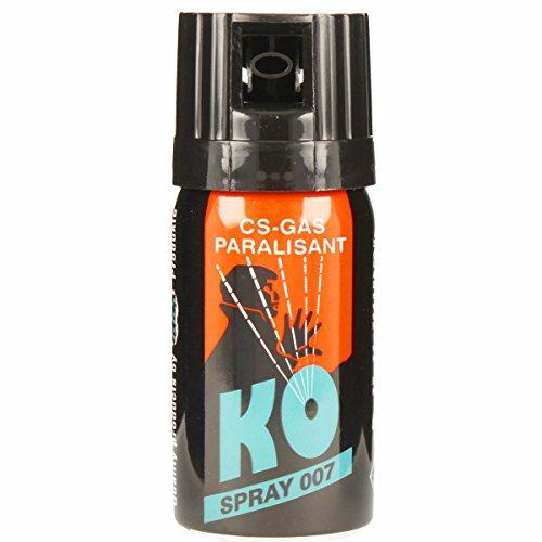 KO Spray 007 CS-GAS PARALISANT zur selbstverteidigung 40ml (Sicherheit Pfeffer-spray)