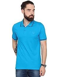 Urban Nomad Turquoise Regular Fit T-shirt