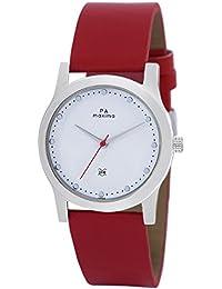 Maxima Analog White Dial Women's Watch - O-46673LMLI