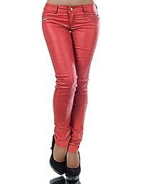 neueste trends billiger Verkauf Neues Produkt Suchergebnis auf Amazon.de für: kunstlederhose - Rot: Bekleidung