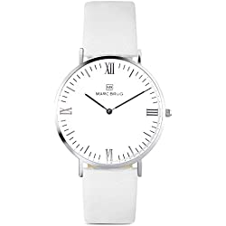 Marc Brüg Men's Minimalist Watch Kensington 41 Hygge