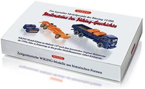 Büssing 12.000 Set - paquet cadeau - voiture miniature, Miniature Miniature Miniature déjà montée - Wiking 1:87 | Durable  b37df1