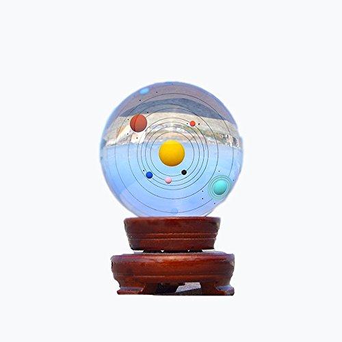 Crystal-kristall-palast (OOFYHOME 3D-Kristall-Sonnensystem / Home Decoration / Innendekoration / Crystal Crafts)