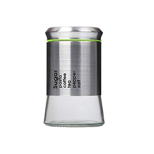 Ahui Spice Jar Condiments Dosen Würze Flasche Konserven 304 Edelstahl Lagerung Kaffeebohnen Zucker Tee Solid Liquid , 2