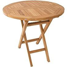 mesa teca plegable para terraza portes gratis