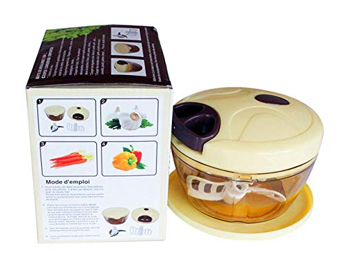 SPEEDY CHOPPER-Picadora de Alimentos Cortador de Verduras para Verduras Frutas Carne