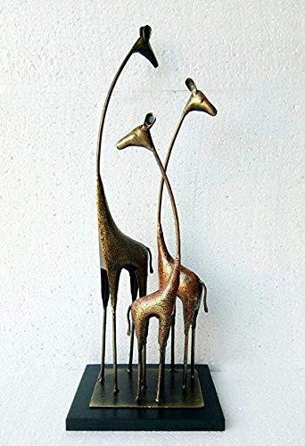 KRAFT & KULTURE/Giraffe Table Décor/Home Decor