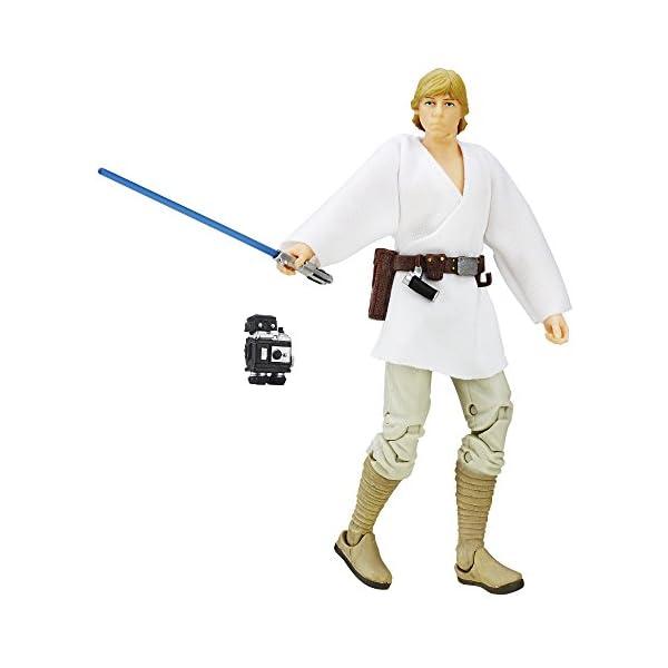 Hasbro Figura de Luke Skywalker de La Guerra de Las Galaxias: una Nueva Esperanza - The Black Series, 15,24 cm 1