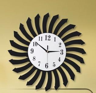 JinRou La personalità di moda tempo contemporaneo anello/Mute le personalità creative di semplice European-Style Living room hanging orologio - Quarzo Contemporaneo Anello