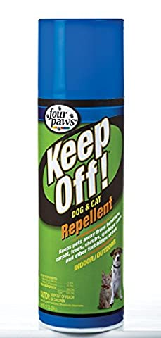 Four Paws Products Indoor Outdoor Repellent 10 Ounces - 17000
