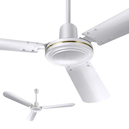 Liuyu · Deckenventilator-Haushalts-Fan 56 Zoll-Eisen-stummes Wind-großes Wohnzimmer-Schlafzimmer-Restaurant-industrieller Kran-König Deckenventilator 56-Zoll-Kupfermotor-erweiternde Blatt-Wind-Ton 80W -