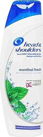 6x Head & Shoulders Anti-Schuppen-Shampoo 1IN1Menthol Fresh 250ml