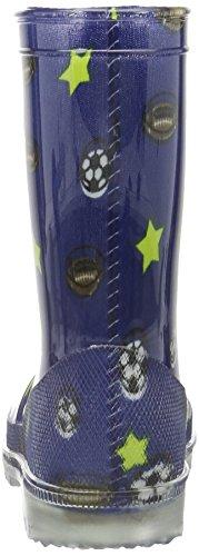 Lico Jungen Powerlight Blinky Gummistiefel Blau (Blau)