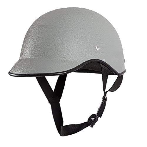 SARTE All Purpose Safety Helmet with Strap (Grey, Free Size)