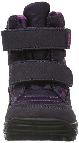 Richter Kinderschuhe Freestyle, Bottes courtes avec doublure chaude fille Violet - Violett (Aubergine/amethyst 7702)