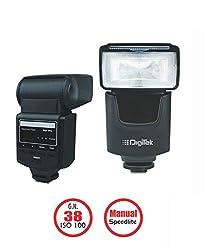Digitek Camera Flash Speed light Nikon/Canon GN 38 ISO 100 DFL-003