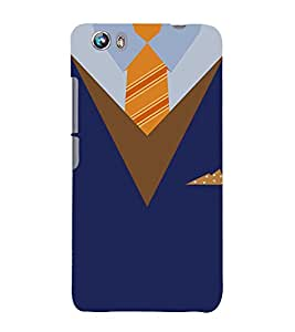 Representative Dress Code 3D Hard Polycarbonate Designer Back Case Cover for Micromax Canvas Fire 4 A107