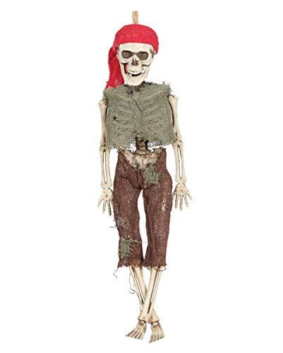 Pirat Hängefigur als Halloween Dekoration 40cm ()