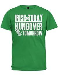 St. Patrick's Day - Irish Today T-Shirt Green